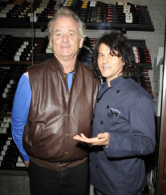 Bill Murray and Kerry Simon