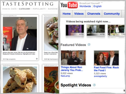 Tastespotting, YouTube Feature
