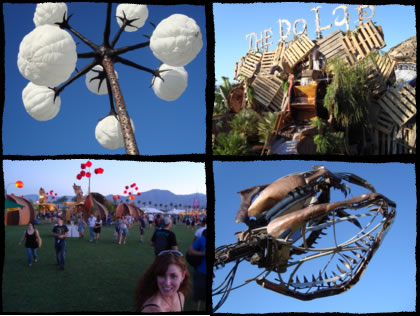 Coachella during the day.