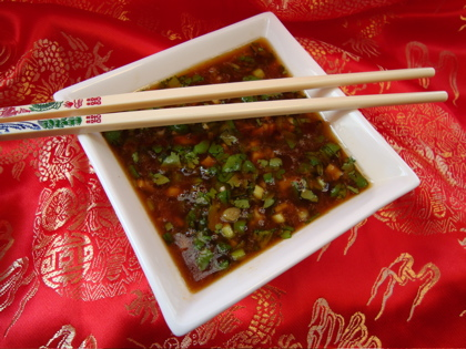 Spicy Asian Dipping Sauce