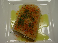 Average Betty's Grilled Fish with Roasted Red Pepper Aioli