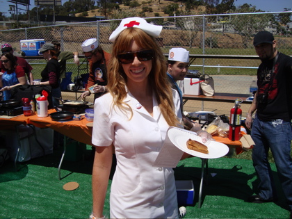 Average Betty at the Grilled Cheese Invitational