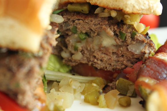 Jalapeno Popper Burger