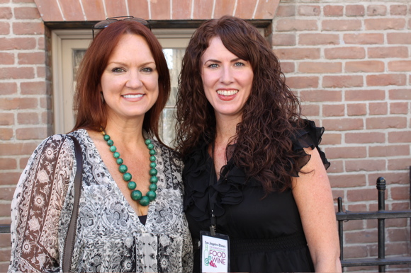 Ree Drummond and Sara O'Donnell