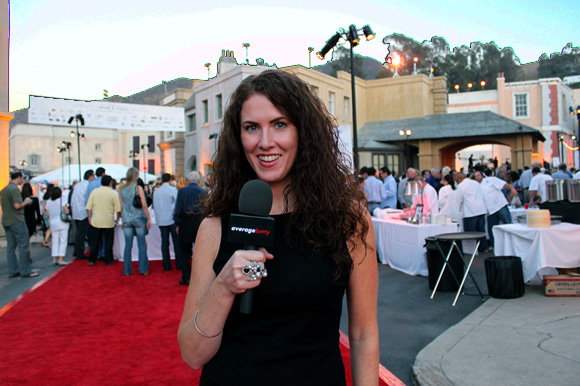 Sara O'Donnell of Average Betty at American Wine & Food Festival