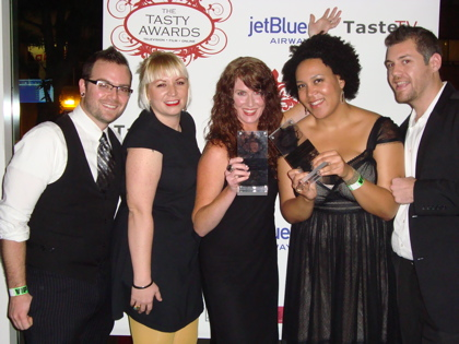 Team Average Betty at the Tasty Awards