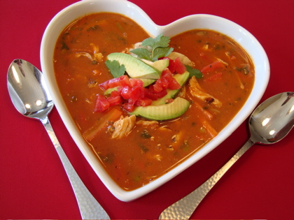 tortilla soup 420 2spoons Easy Tortilla Soup