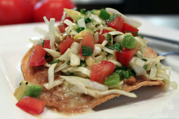 Tostada Salad Recipe - Average Betty
