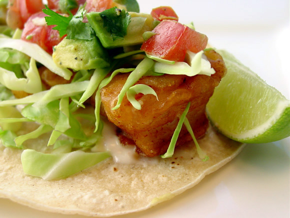 Classic Beer Battered Baja Fish Tacos are my favorite! This original ...