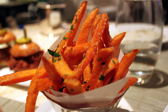 Sweet Potato Fries from Society Cafe Encore