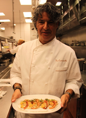 Kim Canteenwalla, Executive Chef of Society Cafe Encore