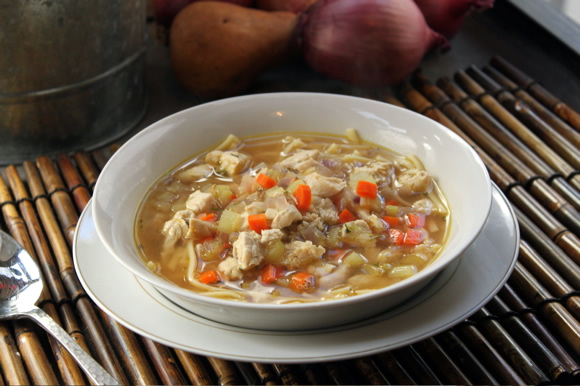 Easy to Make Recipes For Chicken Noodle Soup Easy Chicken Noodle Soup