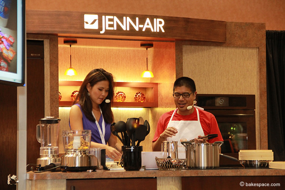 Erik Trinidad on the Jenn-Air Kitchen Stage