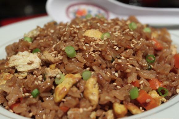 Recipes of fried rice chicken