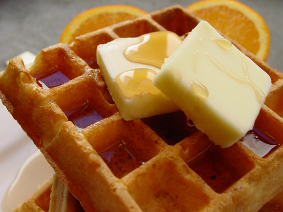 The Best Waffles Ever Recipe, 2008