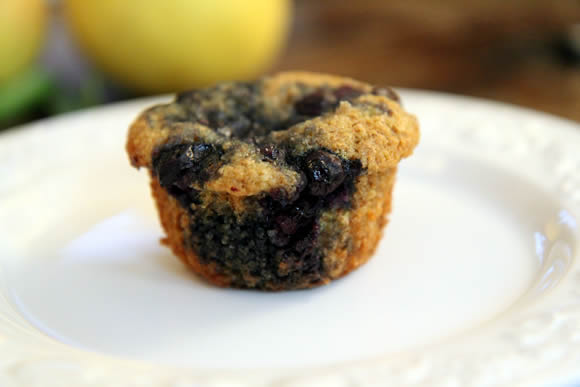 Get the Blueberry Bran Muffins Recipe
