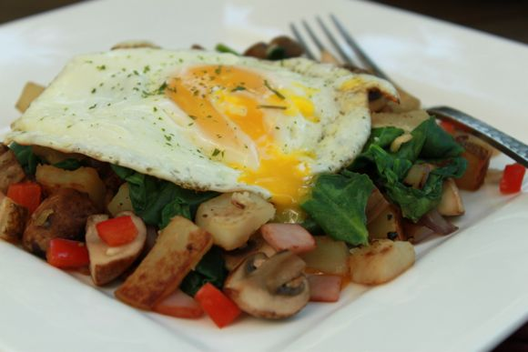 Breakfast Skillet Recipe - Average Betty