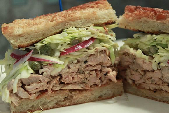Cajun Pork Sandwich Recipe