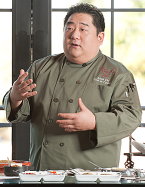 Adam Cho, Executive Chef of Rick's Cafe