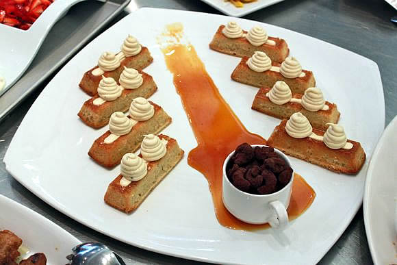 Honey Cakes at The Culinary Institute of America