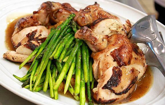 Get the Buckwheat Honey Roasted Chicken Recipe