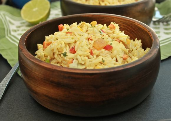 Get the Curry Rice Salad Recipe