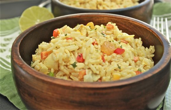 curry artichoke rice salad and rice in a light curry make ahead salad ...