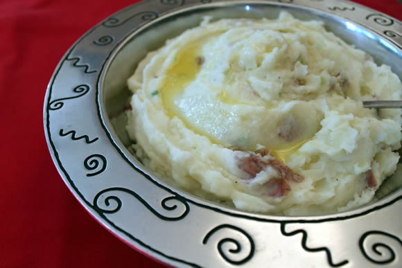 Get the Garlic Mashed Potatoes Recipe