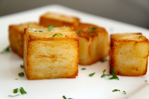 Get the Buttermilk Pave Potato Recipe