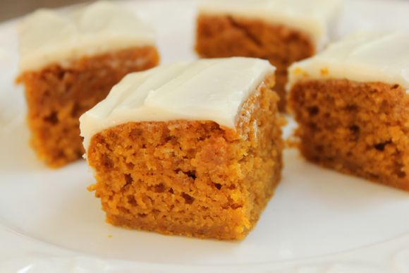 Get the Pumpkin Bars Recipe