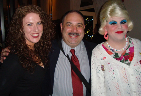 Foodwishes and Jolene Sugarbaker at the Tasty Awards 2011