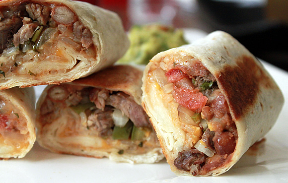 Grilled Steak Burritos Recipe