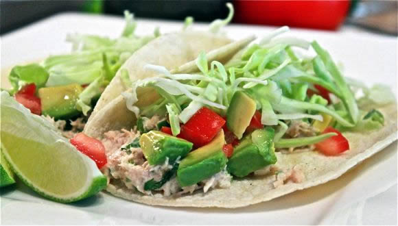 quickie taco tuna fish tacos recipe average betty