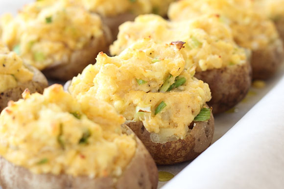 Chihuahua Twice-Baked Potatoes from Meagan Micozzi, Scarletta Bakes