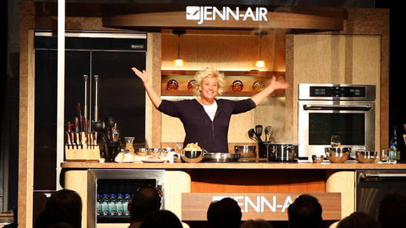 Anne Burrell Talks Cooking For Kids on Babble