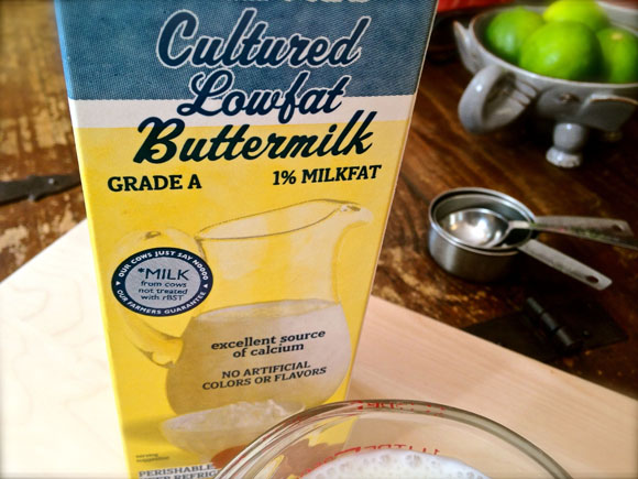 Buttermilk Substitute Recipe