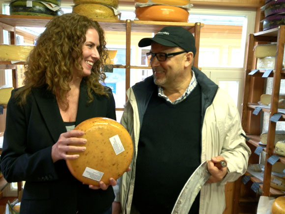 Sara O'Donnell and Chef Dimitri Demjanov
