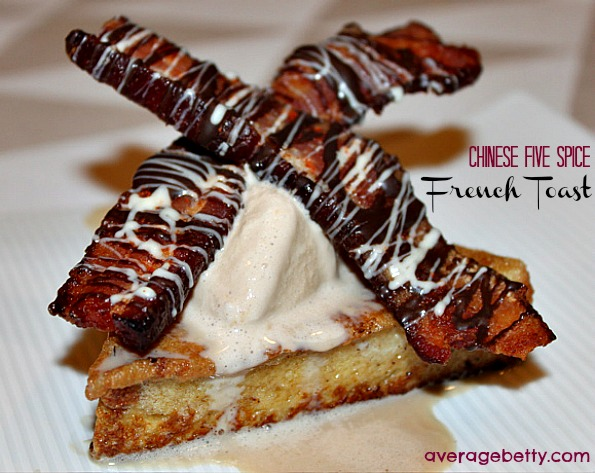 Chinese Five Spice French Toast Recipe