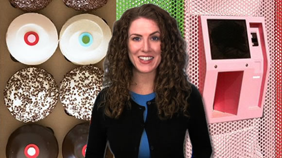 Sprinkles 24 Hour Cupcake ATM Video on Babble
