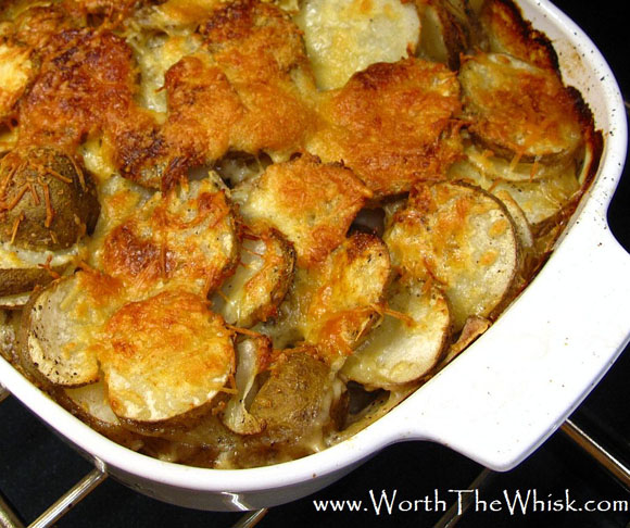 Mom's Scalloped Potatoes from Patti Londre, Worth the Whisk