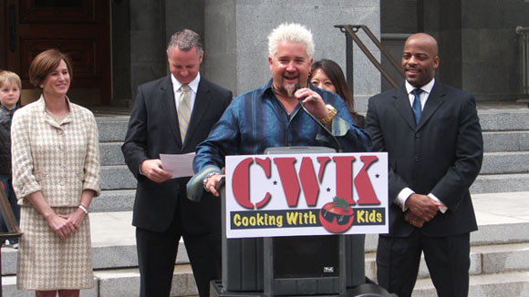 Guy Fieri - Cooking With Kids