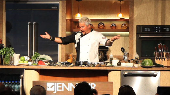 Guy Fieri on Cooking For Kids on Babble