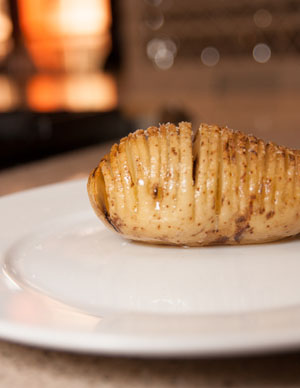 Hasselback Idaho Potato