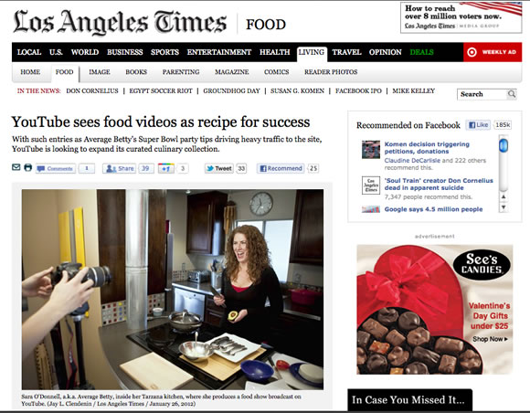 Average Betty in Los Angeles Times