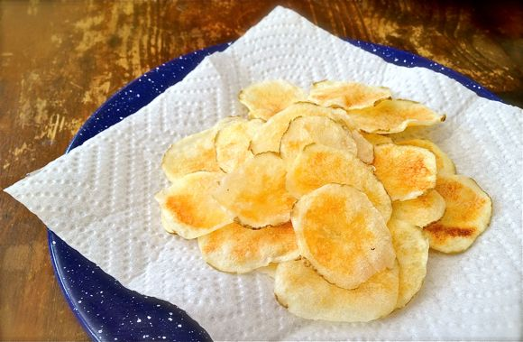 Microwave Potato Chips Recipe