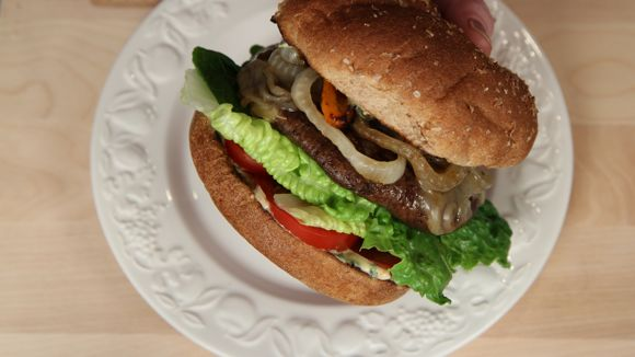 How to Make a Portobello Mushroom Burger Recipe