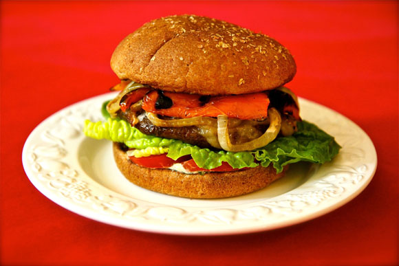 ... Portobello Mushroom Burger Video , give it a thumbs up and please