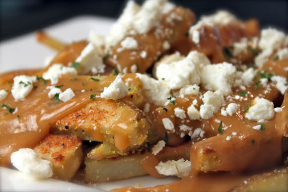 Oven Baked Idaho Potato Poutine Recipe