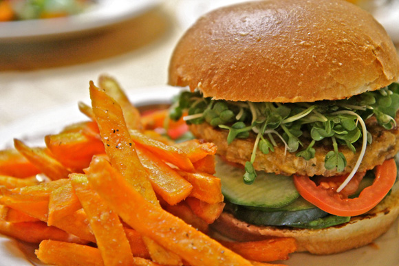 The Farm of Beverly Hills Veggie Burger