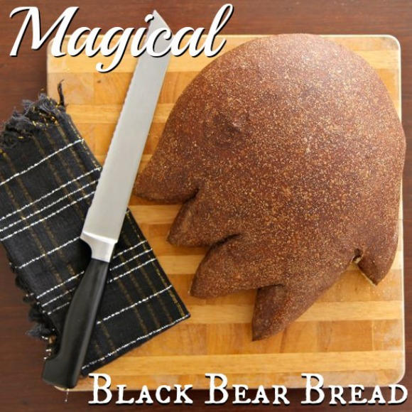 Magical Black Bear Bread at Babble.com